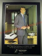 1986 Austin Reed Ad - Austin Reed, the Authority on looking the part