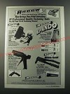 1986 Arrow Ad - Electro-Matic ETN-50 Electric Staple Gun