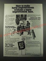 1986 Shopsmith Mark V Ad - How to make home improvements without a home