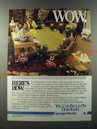 1986 Georgia-Pacific Products Ad - Wow. Here's How