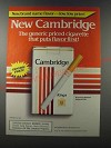 1986 Cambridge Cigarettes Ad - Puts Flavor First