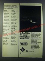 1986 Farm Credit Service Ad - We don't make two-career farming easy