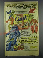 1986 Nestle Quik Ad - Win a complete set of gobot toys