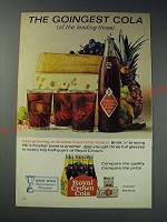 1963 Royal Crown Cola Ad - The goingest cola (of the leading three)