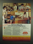 1987 Merillat Cabinets Ad - There's no telling what you'll cook up