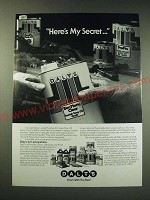 1987 Dalys Oil Finishes Ad - Here's my secret