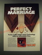 1987 Porter-Cable Model 555 Plate Joiner Ad - Perfect Marriage
