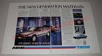 1987 Mazda 626 Car Ad - Its simply streets ahead