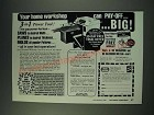 1987 Foley Belsaw Planer-Molder-Saw Ad - Your home workshop can pay-off Big