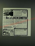 1987 Foley Belsaw Institute Ad - Be a Locksmith!