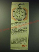 1942 BSA Birmingham Small Arms Ad - A time-piece