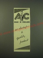 1944 AC Spark Plugs Ad - Made in England as always a quality product