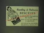 1940 Huntley & Palmers Biscuits Ad - Obtainable Throughout World