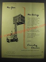 1953 Coventry Climax Ad - New Year New Savings