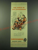 1953 Lockheed Hydraulic Brakes Ad - The choice of the connoisseur