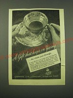 1953 Royal Standard China Ad - A gift that keeps on giving