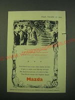 1953 Mazda Lamps Ad - We had the same sort of trouble at the Splendiferous