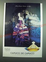 1988 Capucci de Capucci Perfume Ad - When dreams become reality