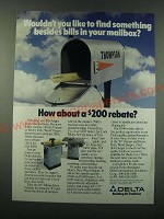 1988 Delta Unisaw and Heavy Duty Wood Shaper Ad - Wouldn't you like to find