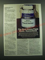 1988 Muralo House & Trim Paint Ad - The best house paint made. Guaranteed.