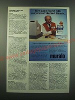 1988 Muralo Ultimate Paint Ad - Free paint expert with every can of Muralo