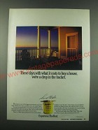 1988 Cabot Stains Ad - These days, with what it costs to buy a house