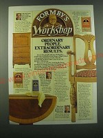 1988 Formby's Furniture Refinisher, Poly Finish and Paint Remover Ad