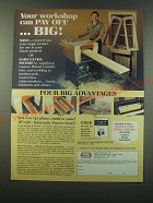 1988 Foley-Belsaw Planer-Molder-Sander-Saw Ad - Your workshop can pay off… big!