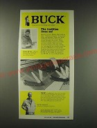 1988 Buck Knives Guildmaster Knives Ad - Buck The tradition lives on!