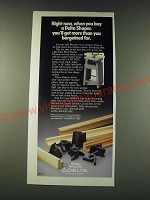 1988 Delta Light Duty Wood Shaper Ad - Right now, when you buy