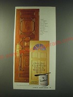 1988 Varathane Clear Semi-Gloss Wood Finish Ad - Only one