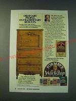 1988 Formby's Furniture Refinisher Ad - Ordinary people. Extraordinary results