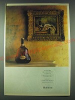 1989 Hennessy X.O. Cognac Ad - To preserve the condition of a Cezanne