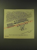 1964 Cartoon by VIP Virgil Partch - been in lots of strange dugouts