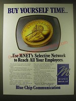 1989 M-Net Business Broadcast Ad - Buy yourself time