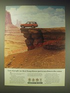 1989 Range Rover Ad - just to run down to the corner