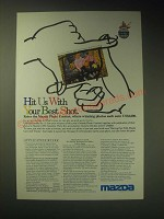 1989 Mazda Motor Corporation Ad - Hit us with your best shot