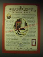 1989 Gevalia Kaffee Coffee Ad - The magnificent obsession
