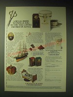 1989 Gevalia Kaffee Coffee Ad - A regal bribe to induce you to try the coffee