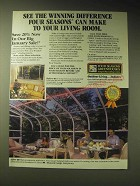1989 Four Seasons Greenhouses Ad - See the winning difference