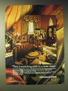 1989 Schumacher Fabrics, Wallcoverings and Floorcoverings Ad