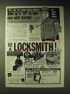 1989 Foley-Belsaw Institute Ad - Be a Locksmith!