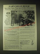 1989 Foley-Belsaw Sharp-All Ad - Earn $18 an Hour!