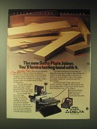 1989 Delta Stationary Plate Joiner Ad