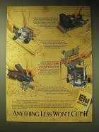 1989 Black & Decker Elu Ad - Belt Sanders, Jointer/Spliner, Plunge Routers