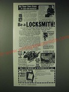 1989 Foley-Belsaw Institute Ad - Be a Locksmith