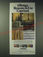 1989 Cuprinol Stains, Deck Stains, Wood Preservatives and Sealers Ad