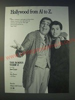 1989 The Famous Teddy Z TV Series Ad - Jon Cryer and Alex Rocco