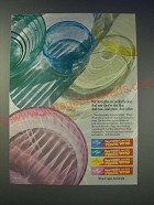 1989 Reynolds Crystal Color Plastic Wrap Ad - Our strengths