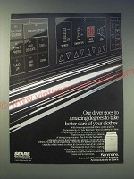 1989 Kenmore Dryer Ad - Our Dryer goes to amazing degrees to take better care
